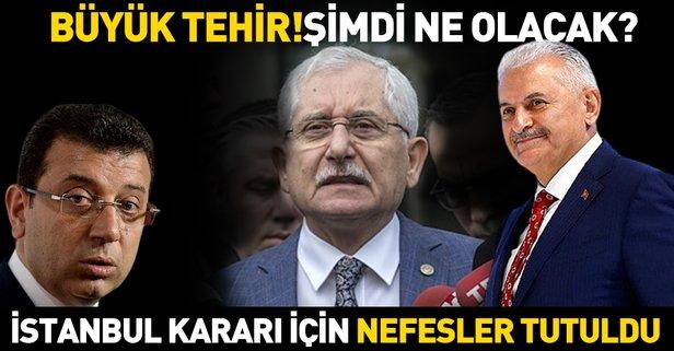 YSK, AK Parti'nin Büyükçekmece itirazını erteledi! İstanbul'da, Binali Yıldırım ile Ekrem İmamoğlu arasındaki yarışta sona gelindi.
