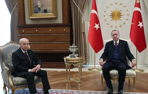 Başkan Erdoğan ile Bahçeli arasında yerel seçimler sonrası ilk görüşme.