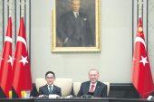 Başkan Erdoğan, TBMM Genel Kurulu'nda HDP'li Buldan kürsüye çıkınca Meclis'ten ayrıldı.