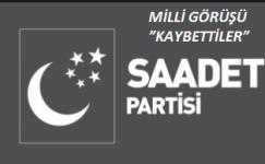 """MİLLİ GÖRÜŞÜ """"KAYBETTİLER"""""""