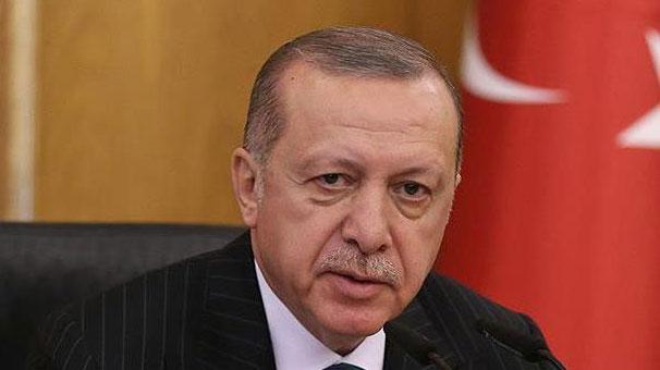 Cumhurbaşkanı Erdoğan'dan şehit ailesine başsağlığı telgrafı.