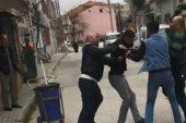 İş yerine tüfekle ateş açan kişiyi dövdüler