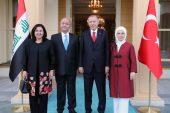 Başkan Erdoğan ile Berham Salih'ten kritik görüşme