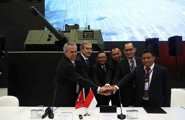 İmzalar atıldı! FNSS Endonezya'ya tank üretecek.