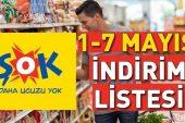ŞOK aktüel ürünler kataloğu: 1-7 Mayıs ŞOK market indirimlerinde Ramazan sürprizi.