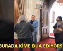 Sultan Abdülhamid'in türbesinde büyük saygısızlık! Kim bu provokatörler?.