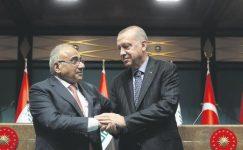 Irak ile askeri güvenlik anlaşması.