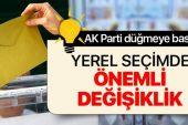 AK Parti düğmeye bastı! Muhtarlara ayrı seçim geliyor.
