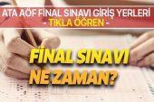 ATA AÖF final sınavı giriş yerleri görüntüleme! 2019 ATA AÖF final sınavı ne zaman? Atatürk Üniversitesi OBS.
