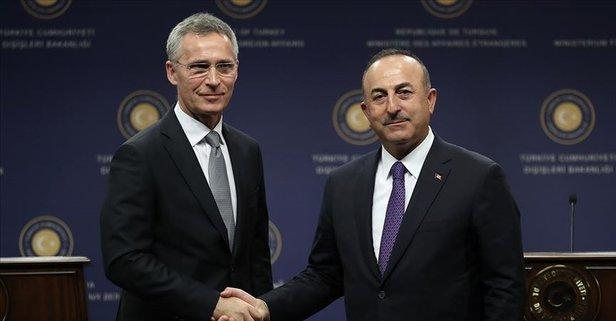 Bakan Çavuşoğlu, NATO Genel Sekreteri Stoltenberg ile telefonda görüştü.