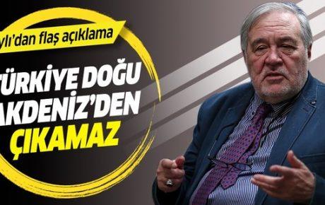 İlber Ortaylı: Türkiye, Doğu Akdeniz'den çıkamaz.
