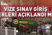 İstanbul Üniversitesi AUZEF sınav giriş belgesi yayınlandı mı? 2019 İÜ AUZEF vize sınavı ne zaman?.