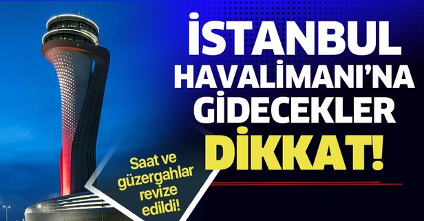 İşte İstanbul Havalimanı'na 7/24 ulaşım haritası   İstanbul Havalimanı'na nasıl gidilir?.