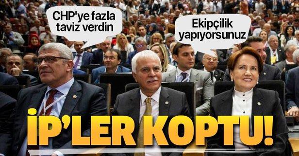 İyi Parti karıştı! Tepe yönetimi Akşener'i suçluyor.