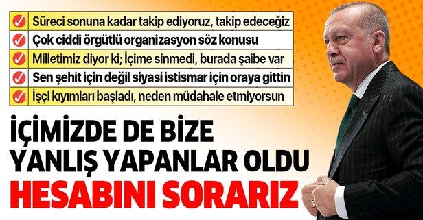 Son dakika: Başkan Erdoğan'dan Kızılcahamam Kampı'nda önemli açıklamalar.