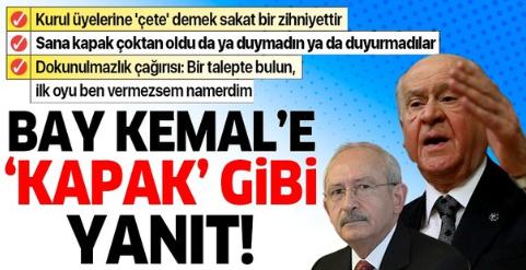 MHP Lideri Bahçeli'den partisinin grup toplantısında önemli açıklamalar.