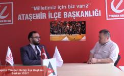 Ataşehir Yeniden Refah Partisi İlçe Başkanı Serkan YİĞİT , Başlıyoruz.