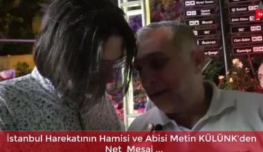 İstanbul Harekatında Metin Külünk ile bin adam buluştu..