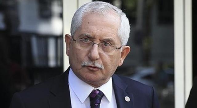 """YSK Başkanı Güven: """"Rakamlar yüzde 100 sisteme işlendi"""""""