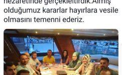 Erdoğan Artık 94 Ruhu diyor. Ak Parti Beykoz Gençlik Kolları Yatta sefahat  Toplantısında