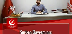 Yeniden Refah Partisi Ataşehir  İlçe Başkanı Serkan Yiğit Kurban Mesajı