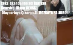 Alaşehir Devlet Hastanesinde  Seks Skandalında Adı Karışan Hemşireden Tehdit..