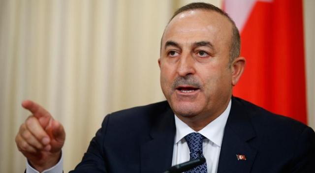 """Bakan Çavuşoğlu: """"35 saat kaldı. 35 saat içerisinde geri çekilmezlerse operasyona yeniden başlayacağız"""""""