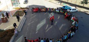 Sivas'ta eğitim gören Afrikalı öğrencilerden Mehmetçiğe destek