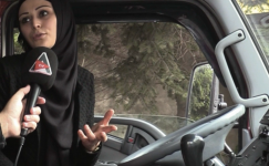 Ataşehir'de Kamyon Şoförü Bir Anne..