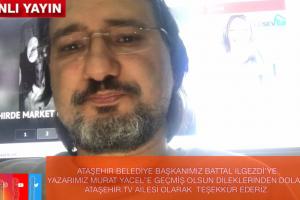 TAŞEHİR TV AİLESİ ATAŞEHİR BELEDİYE BAŞKANI BATTAL İLGEZDİ'YE TEŞEKKÜR EDERİZ..