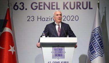 Hüseyin Aydın, TBB Yönetim Kurulu Başkanlığı'na yeniden seçildi