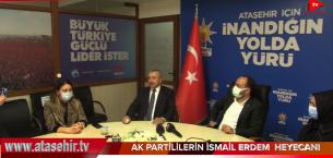 AK PARTİLİLERİN İSMAİL ERDEM HEYECANI.