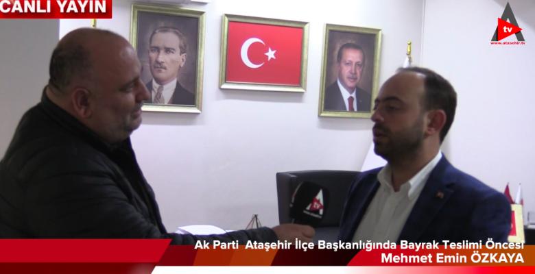 AKPARTİ ATAŞEHİRDE İSMAİL ERDEM DÖNEMİ ..