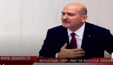 SOYLU'DAN: HDP-PKK SOYLUCA SÖZLER.