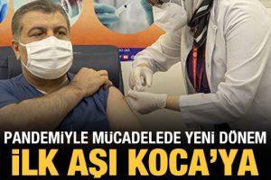 Bakan Koca açıkladı: Türkiye'de aşılama yarın başlıyor